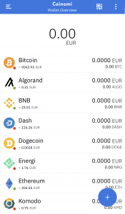 Coinomi Cryptocurrency Wallet
