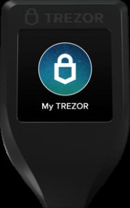 Trezor Model T Cryptocurrency Wallet