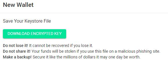 Neo (NEO) explained - Wallet Save Keystore File